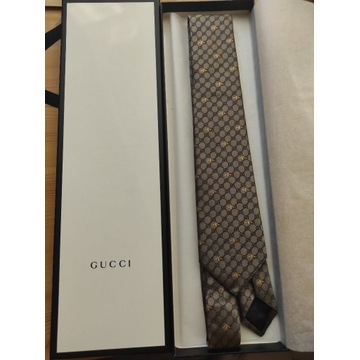 Oryginalny krawat GUCCI
