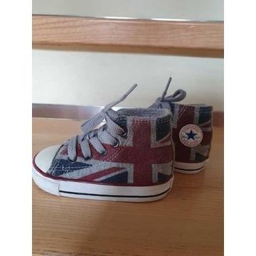 Dziecięce Converse w flagę UK rozm. 21