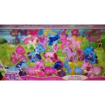 zestaw kucyków koniki zestaw koników Pony