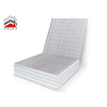Styropian EPS 100 z folią ogrzewanie podłogowe,mat