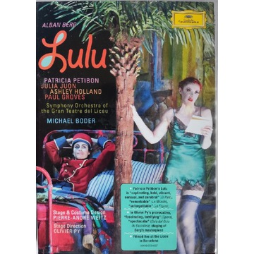 Alban Berg - Lulu - Boder, Petibon - 2 DVD