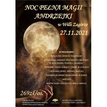 Andrzejki w Willi Zagórze- 27.11.2021