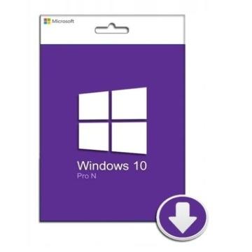 Windows 10 Pro N 32x/64x win klucz key PL