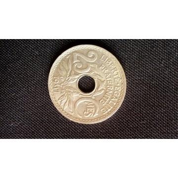25 Centimes 1917