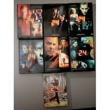 24 godziny 42 płyty DVD sezony 1-6 i 8
