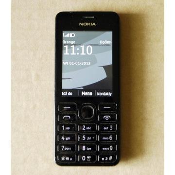 Nokia Asha 206 działa w Orange