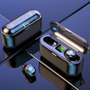 Słuchawki bezprzewodowe F9 Tws Bluetooth 5.0