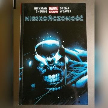 Nieskończoność - Hickman Cheung - komiks Marvel