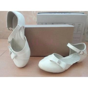 Eleganckie buciki dla dziewczynki rozm.32 lakierki