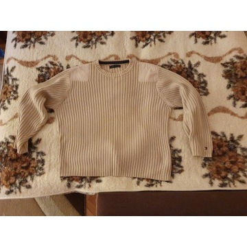 Sweter Tommy Hilfiger gruby M
