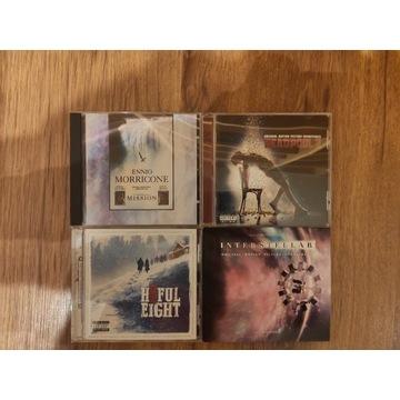 Kolekcja 4 płyt z muzyką filmową