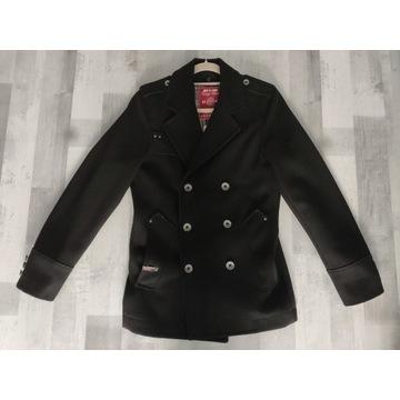 Płaszcz męski czarny Jack&Jones rozmiar S