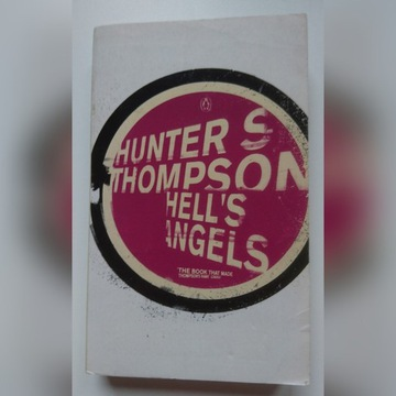 Hell's Angels Hunter S Thompson wydanie angielskie