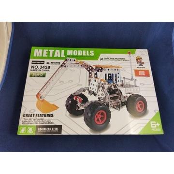 Metalowy Model- Koparka
