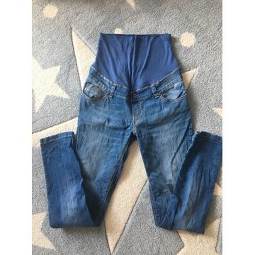 Jeansowe Spodnie Ciążowe S HappyMum