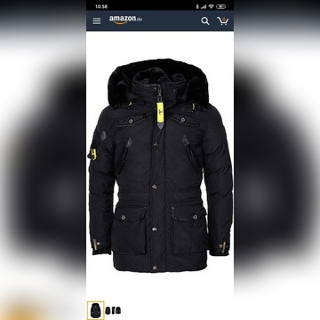 Kurtka Zimowa Geographical Norway Acore Parka