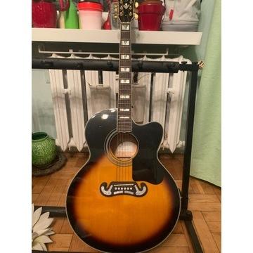gitara harley benton custom line king ce-nt