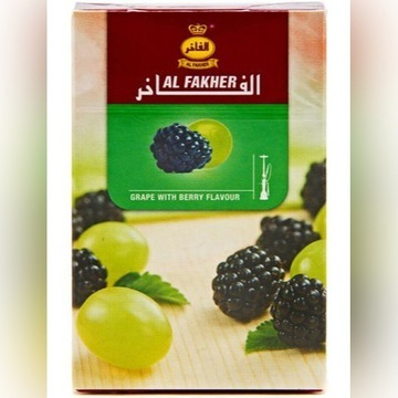 Al Fakher melasa Shisha Fajka Wodna 50g winogron