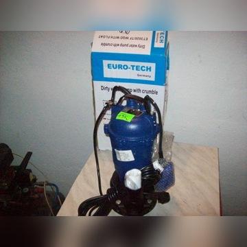 Pompa do wody szamba z rozdrabniaczem 3200 pływak