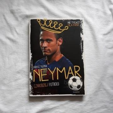 książka biografia Neymar czarodziej futbolu
