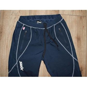 SWIX damskie spodnie XS S trekking rower bieganie