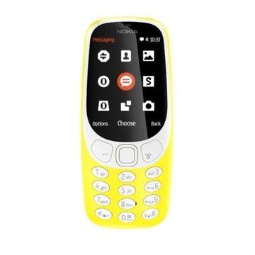 Nokia 3310 Dual Sim żółta/yellow