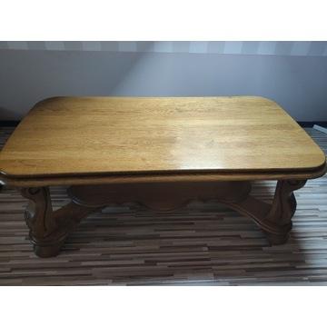sprzedam  piękną solidną ławę (stolik kawowy)