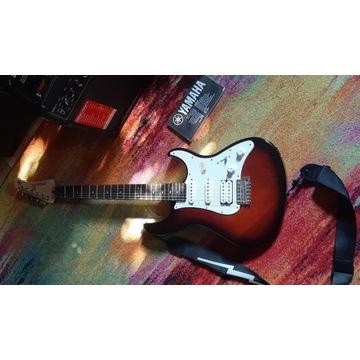 Gitara Elektryczna Yamaha 112J OVS + Wzmacniacz