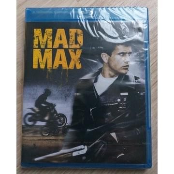 MAD MAX Blu-ray NOWY FOLIA Mel Gibson