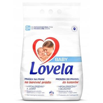 BABY Proszek dla Dzieci Prania Kolor 4,1kg Lovela