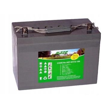 Akumulator żelowy HAZE 12V 110Ah (2 sztuki)