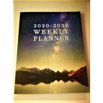 DUŻY Organizer Kalendarz Trzyletni 2020-2022