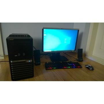 """Zestaw PC 8GB RAM 500GB DYSK Monitor 24"""""""