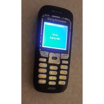 Sony Ericsson J220i 100% sprawny