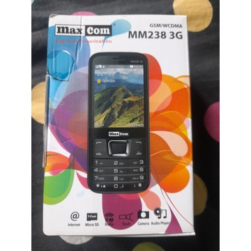 MAXCOM MM238 3G NOWY