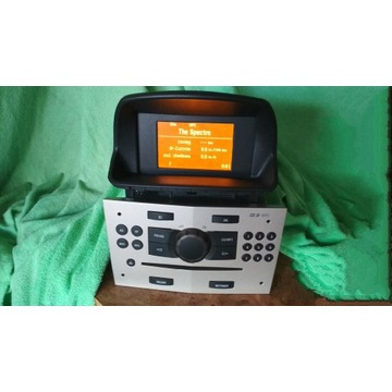 Radio CD 30 mp3 + Wyświetlacz GID 3 L Corsa D