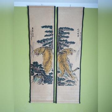 Stare zwoje japońskie kakemono