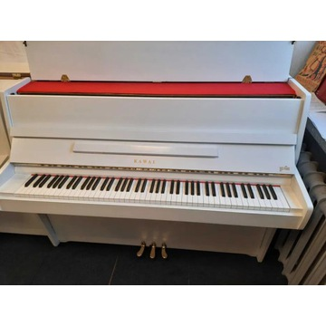 Pianino Kawai białe transport gwarancja