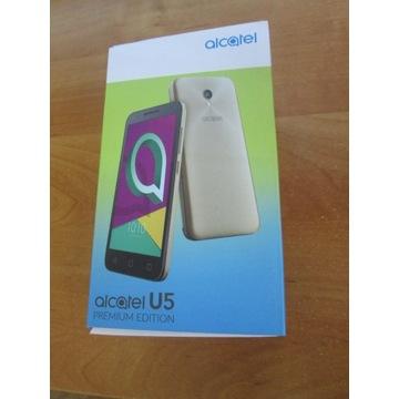 Alcatel U5 dual sim kolor złoty
