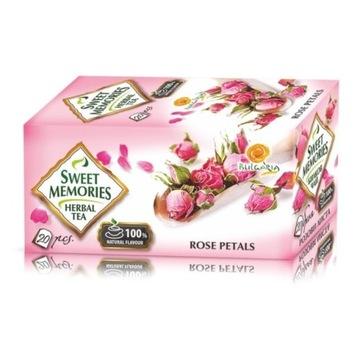 Herbata z płatków róży 100% naturalny smak