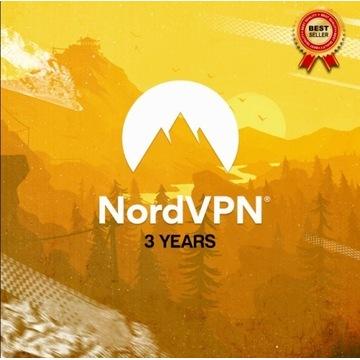NordVPN Nord VPN PREMIUM BEZ LIMITU 3 LATA GWARANT
