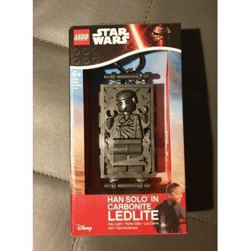 Lego latarka LED Han Solo w karbonicie