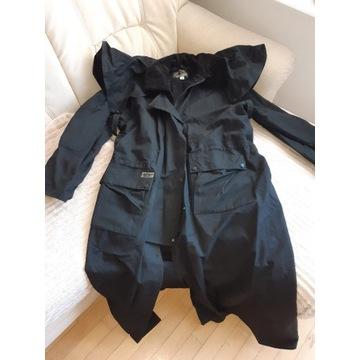 Płaszcz kowbojski olejowany westernowy L czarny
