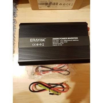 PRZETWORNICA ERAYAK 12V 230V 4000 W USB 5V