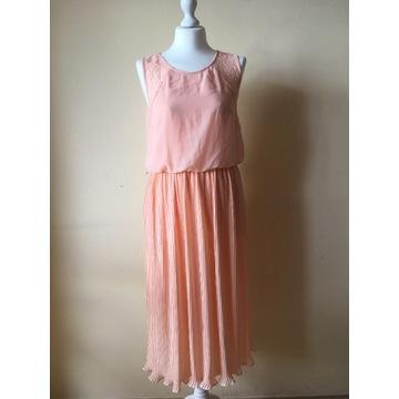 Sukienka retro plisowana M Vero Moda wesele