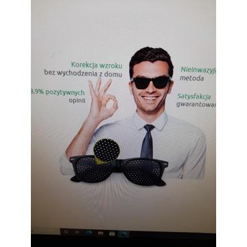 Okulary do ćwiczeń na poprawę wzroku