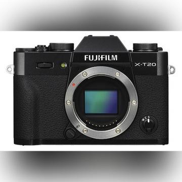 Aparat Fujifilm x-t20 + Obiektyw fuji xf-50mm f2