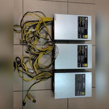 Zasilacz Antminer 1850 wat 10x6 pin PCI