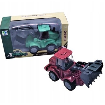 Zabawkowy Pojazd TRAKTOR ciągnik KOPARKA dladzieci
