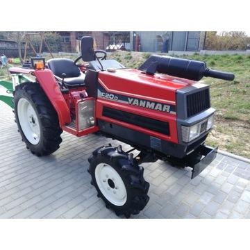 4x4 Mini TRAKTOR YANMAR 20KM Traktorek FX20D PEŁNY